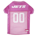 NYJ-4019 - New York Jets - Pink Mesh Jersey