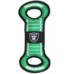 OAK-3030 - Oakland Raiders - Field Tug Toy