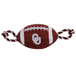 OK-3121 - Oklahoma Sooners - Nylon Football Toy