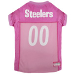 PIT-4019 - Pittsburgh Steelers - Pink Mesh Jersey