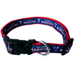 RAN-3036 - Texas Rangers - Dog Collar