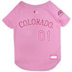 ROC-4019 - Colorado Rockies - Pink Baseball Jersey