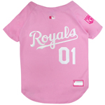 ROY-4019 - Kansas City Royals - Pink Baseball Jersey