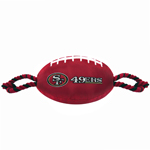 SAN-3121 - San Francisco 49ers - Nylon Football Toy