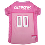 SDC-4019 - San Diego Chargers - Pink Mesh Jersey
