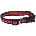 SLC-3036 - St. Louis Cardinals - Dog Collar