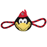SLC-3242 - St. Louis Cardinals - Mascot Double Rope Toy