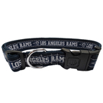 STL-3036-XL - Los Angeles Rams Extra Large Dog Collar