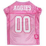 TAM-4019  - Texas A&M Aggies - Pink Mesh Jersey