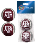 TAM-3189 - Texas A&M Aggies - Tennis Ball 2-Pack