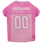 TT-4019 - Texas Tech Raiders - Pink Mesh Jersey