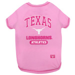 TX-4016 - Texas Longhorns - Pink Tee Shirt