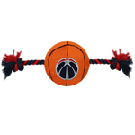 WWZ-3105 - Washington Wizards - Nylon Basketball Rope Toy