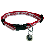 WI-5010 - Wisconsin Badgers - Cat Collar