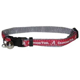 Alabama Crimson Tide - Cat Collar