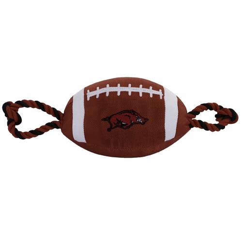 Collegiate Arkansas Razorbacks Nylon Football