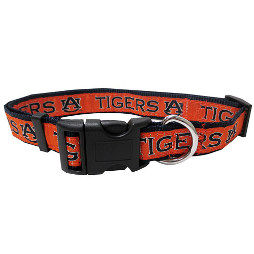 Collegiate Auburn Tigers Collar - Large