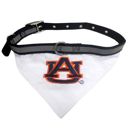 Collegiate Auburn Tigers   Collar Bandana - Large
