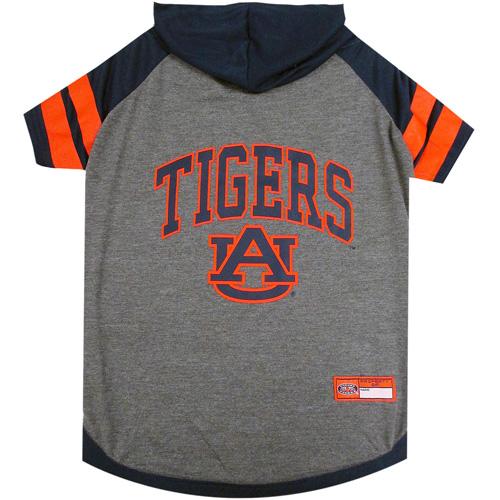 Collegiate Auburn Tigers Hoodie Tee Shirt - Extra Small