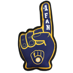 Milwaukee Brewers - No. 1 Fan Toy