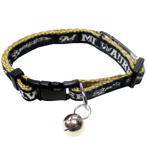 Milwaukee Brewers - Cat Collar