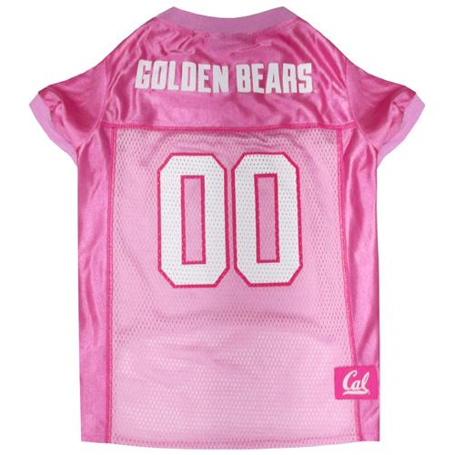 Collegiate California Golden Bears Pink Jersey - Extra Small