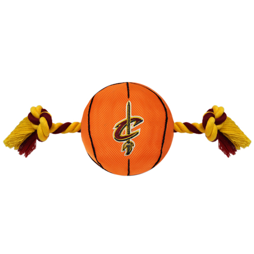 Cleveland Cavaliers - Nylon Basketball Rope Toy