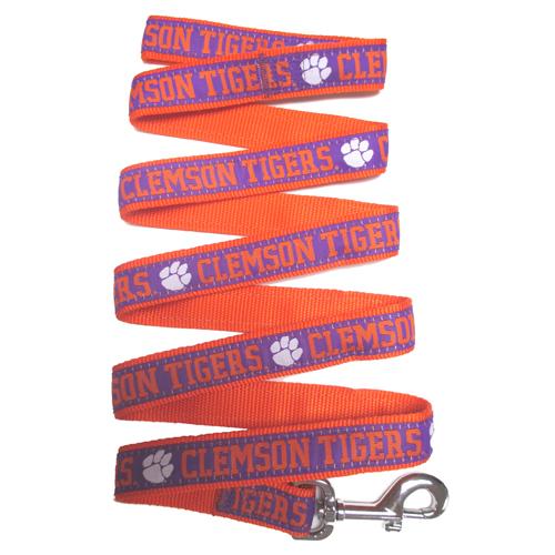 Collegiate Clemson Tigers Leash - Large