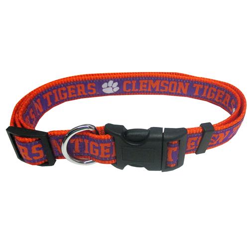 Collegiate Clemson Tigers Collar - Large