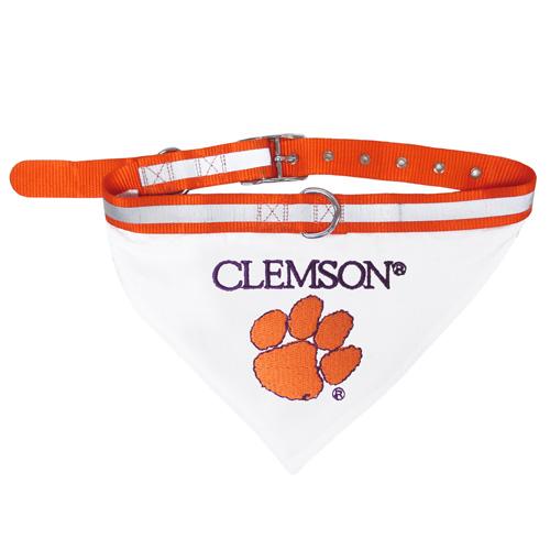 Collegiate Clemson Tigers Collar Bandana - Large