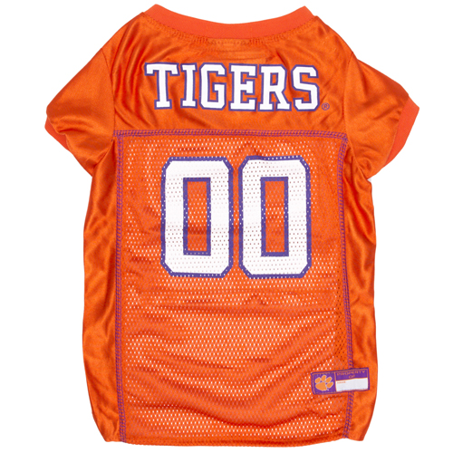 Collegiate Clemson Tigers Mesh Jersey - Extra Extra Large