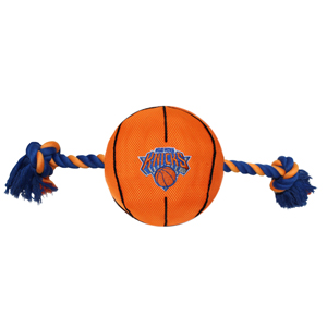 New York Knicks - Nylon Basketball Rope Toy