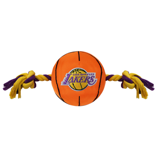 Los Angeles Lakers - Nylon Basketball Rope Toy
