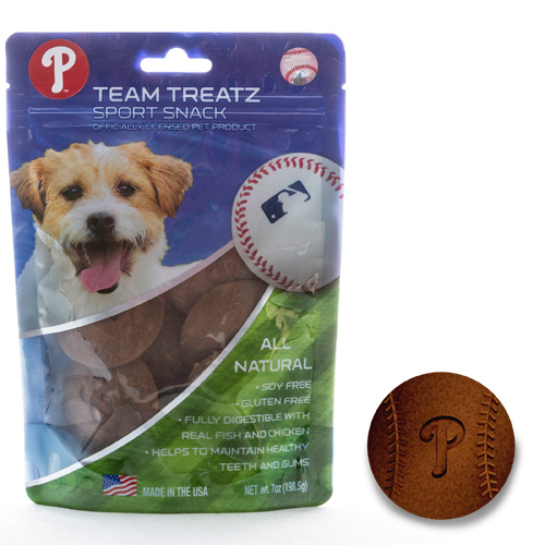 MLB Philadelphia Phillies Dog Treats
