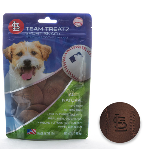 MLB St Louis Cardinals Dog Treats