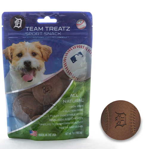 MLB Detroit Tigers Dog Treats