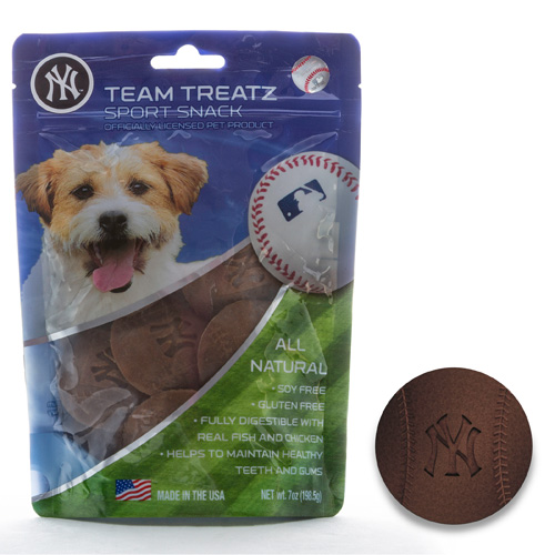 MLB Ny Yankees Dog Treats