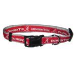 Doggie Nation Collegiate Alabama Crimson Tide Collar - Large