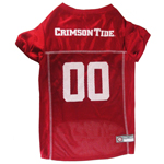 Doggie Nation Collegiate Alabama Crimson Tide Mesh Jersey - Large