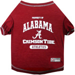 Doggie Nation Collegiate Alabama Crimson Tide Tee Shirt - Extra Small