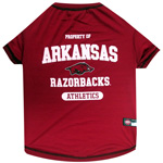Doggie Nation Collegiate Arkansas Razorbacks Tee Shirt - Extra Small