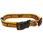 Doggie Nation Collegiate Arizona Sun Devils State Collar - Large