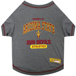 Doggie Nation Collegiate Arizona Sun Devils Tee Shirt - Extra Small