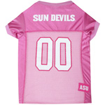 Doggie Nation Collegiate Arizona State Sun Devils Pink Jersey - Medium