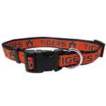 Doggie Nation Collegiate Auburn Tigers Collar - Large