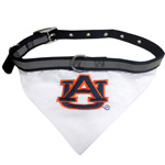 Doggie Nation Collegiate Auburn Tigers   Collar Bandana - Large