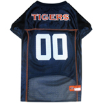 Doggie Nation Collegiate Auburn Tigers Mesh Jersey - Extra Small