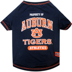 Doggie Nation Collegiate Auburn Tigers Tee Shirt - Large
