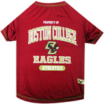 Doggie Nation Collegiate Boston College Eagles Tee Shirt - Extra Small