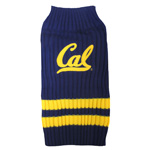 Doggie Nation Collegiate California Golden Bears Sweater - Extra Small